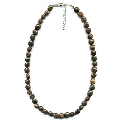 1983-collier-pierres-roulees-bronzite