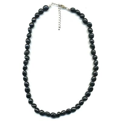 1981-collier-tourmaline-noire-pierres-roulees