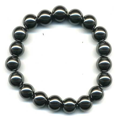 1945-bracelet-hematite-boule-10-mm