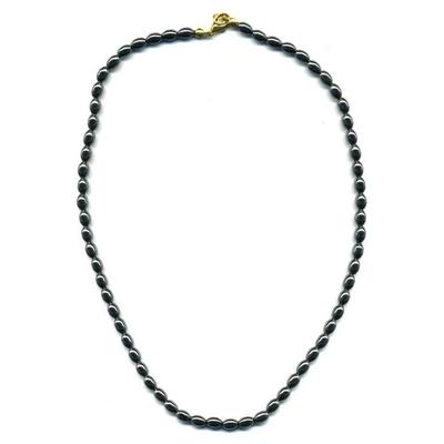 1932-collier-hematite-grain-de-riz