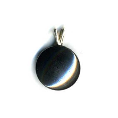 1216-pendentif-magnetite-cabochon-rond-extra-beliere-argent