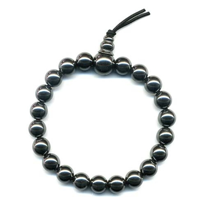 627-mala-tibetain-21-graines-power-bracelet-hematite-boule-8-mm