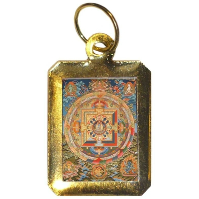 medaille-mandala-samsara-roue-reincarnation