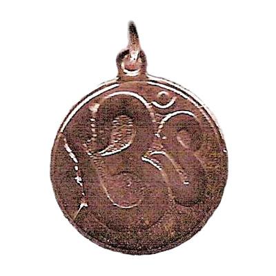La-médaille-des-Divinités-'OM'-cuivré-hypoallergénique-20mm