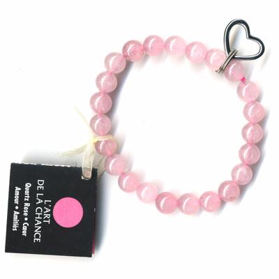 Bracelet-Art-de-la-chance-en-Quartz-rose