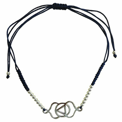 Bracelet-Chakra-Ajna-cordon-ajustable-en-coton