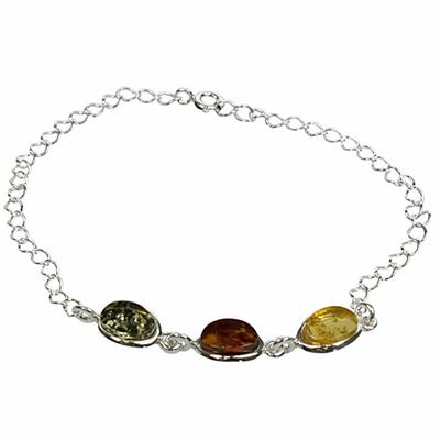 Bracelet-Ambre-3-Pierres-Multicolores
