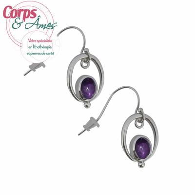 Boucles-d'oreilles-Améthyste-avec-ovale