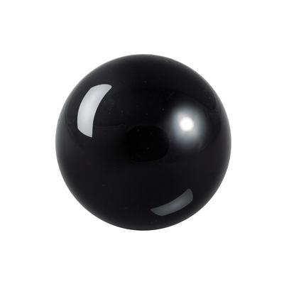 Boule en pierre d'obsidienne noire de 6cm