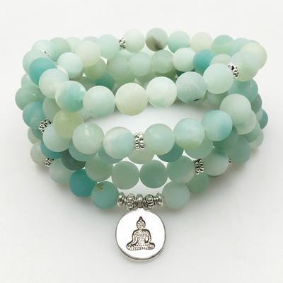 bracelet-mala-relaxation-en-amazonite-naturelle-perles-108-grains