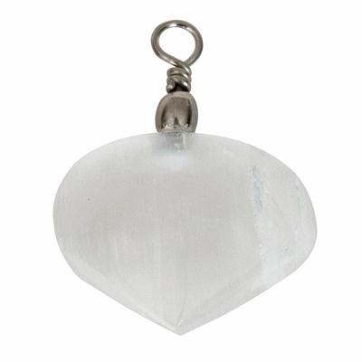 Pendentif-sélénite-blanche-coeur-bombé