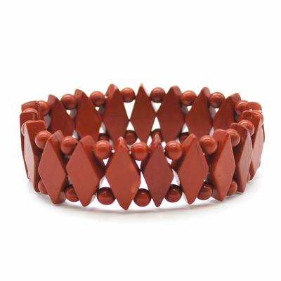 Bracelet-losange-JP-rouge