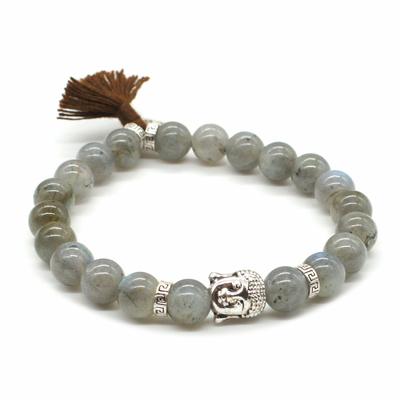 Bracelet-Labradorite-Perles-rondes-8-mm-Pompon-et-Lotus1