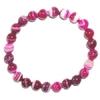 6695-bracelet-en-agate-rose-fluo-boules-8mm
