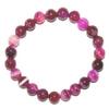 6696-bracelet-en-agate-rose-fluo-boules-8mm