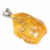 Pendentif-ambre-argent-B