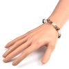 Bracelet-baroque-duo-Quartz-fumé-et-Cristal-de-roche2