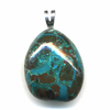 Pendentif-chrysocolle-argent