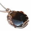 Agate-noire-tranche-facettée-en-Pendentif-Stone-&-Style