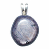 Pendentif-saphir-étoilé-extra-bélière-argent