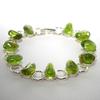 Bracelet-chaine-Péridot-19cm-2
