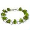 Bracelet-chaine-Péridot-19cm-1