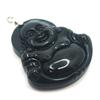 Pendentif-obsidienne-oeil-célèste-bouddha-argent-2