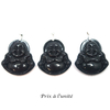 Pendentif-obsidienne-oeil-célèste-bouddha-argent