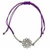 Bracelet-Chakra-Sahasrara-cordon-ajustable-en-coton