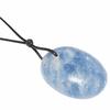 Pendentif-Calcite-bleue-Oval-Maxi-avec-cordon-2