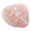 Pièce unique en pierre Quartz rose brute 625g-2