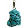 Turquoise-natur-argent