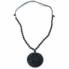 Collier-amulette-de-protection-en-Obsidienne-noire