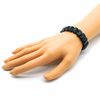 Bracelet-obsidienne-oeil-céleste-plaquette-facettée