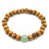 Bracelet-bois-naturel-et-pierre-de-aventurine-1