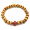 Bracelet-bois-naturel-et-pierre-de-cornaline-2