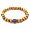 Bracelet-bois-naturel-et-pierre-dAméthyste-1