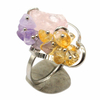 Bague-Trio-Quartz-rose-améthyste-et-citrine-Saturne