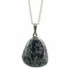 Pendentif-argent-Obsidienne-neige-avec-chainette-argent