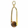 Pendentif-Protection-Oeil-de-tigre-boules-10mm-doré