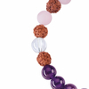 Bracelet-Mala-Améthyste,-Cristal-de-roche,-Quartz-rose-(Vitalité)-2