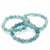 Bracelet-pierres-roulées-FluorineFluorite-bleue-2