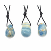 Pendentif-Aragonite-bleue-avec-cordon