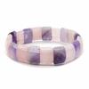 Bracelet-square-'Amour-et-sérénité'-Quartz-rose-et-Améthyste