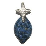 6009-pendentif-lapis-lazuli-de-forme-libre-avec-beliere-en-croix