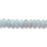 String Button en calcedoine foré de 4mm