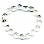 Bracelet pierres roulées en cristal de roche