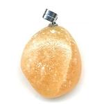 Pendentif Calcite Orange