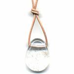 Collier Cristal de roche Pierre et bien-être