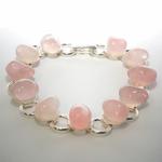 Bracelet-chaine-Quartz-rose-19cm-1